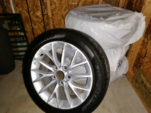 Pirelli winter tires on BMW rims 225/50/R17