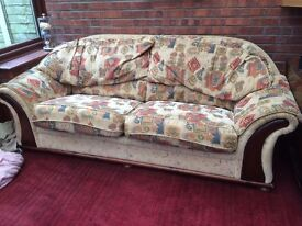 Large 2 or 3 seater sofa with washable covers