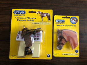 NEW Breyer horse Western saddle & bridle