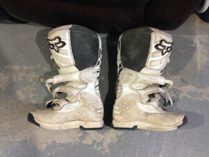 Fox Motocross boots and Chest Protector