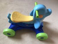 Dolphin ride on toy