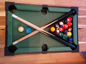 Mini pool - table Billard