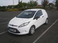2012 12 FORD FIESTA BASE 1.4TDCi 70PS VAN IN WHITE NO VAT TO PAY CHEAP SMALL VAN