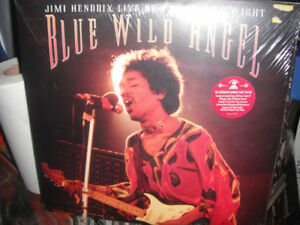 Jimi Hendrix ‎– Blue Wild Angel:  Live At The Isle Of Wight. new