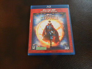Doctor Strange blu ray 3d Version de France (tres bon état)