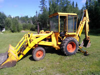 Backhoe case 580 CK