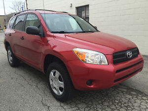 2007 Toyota RAV4 AWD 4 CYL., SUV NO ACCIDENT,CERTIFIED