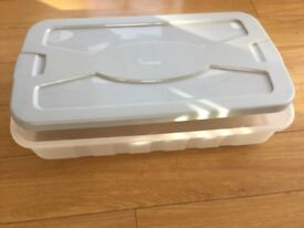 PLASTIC STORAGE CONTAINERS X 3 £5 each
