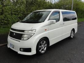 2003 Nissan Elgrand HIGHWAY STAR 4WD SUNROOFS MILEAGE CERT 5dr