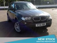 2006 BMW X3 2.0d SE Parksensors Aux Mp3 Input Cruise 2 Owners 6 Speed