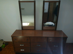 Retro vintage 4pc bedroom set