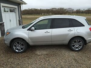 2008 Acura MDX, tech package