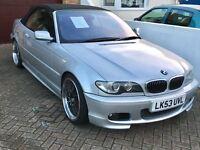 BMW e46 3 series convertible 2.2 litre 6 cylinder petrol