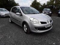 Renault Clio Privilege 2007, 1.4, FSH+1 OWNER+LOW MILEAGE