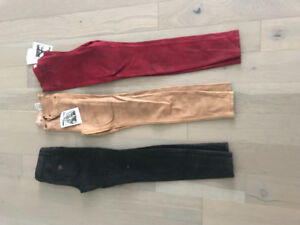 GUESS 1981 high rise power skinny landscape leather jeans SIZE27