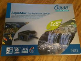 Pond pump oase aquamax 16000 new