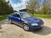 2004 VW Passat S 2.0 130 Petrol Manual 4 Door Saloon Blue Cheap VAG MOT