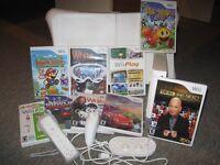 Console et jeux Wii