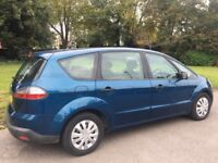 2006 56 FORD S-MAX 2.0 MANUAL SMOOTH DRIVE 7 SEATER MOT VERY CLEAN INSIDE AND OUT QUICK SALE
