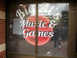 Big Al's Music & games for all your vinyl records new & used