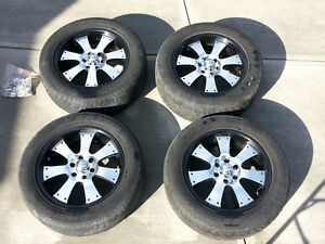 """Matching Set 20"""" Alloy Rims and Tires"""