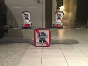LIBTECH snowboard + Union Pabst bindings