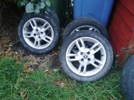 Fiat alloy wheels