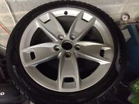 """Genuine fully refurbished Audi A3 Sport 17"""" alloys. Also suit SEAT Exeo, Audi A4 b6&b7"""