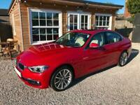 2015 65 BMW 320i Luxury 4dr, Navigation, Leather, Sunroof, Metallic Paint.