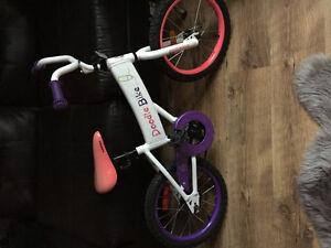 Vélo pour fille 14po
