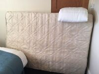 Still available! Free double mattress - must collect. Fire resistant label