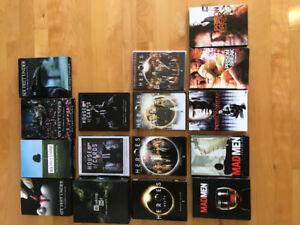 DVD - Breaking Bad, Six Feet Under, Heroes, Mad Men, House of Ca