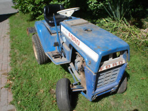 Ford LGT125 Garden Tractor with rototiller