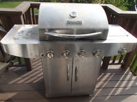 Master Forge BBQ with propane tank/cover