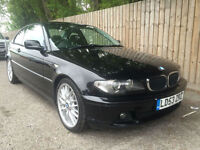 2003 53 BMW 320D 2.0TD Cd COUPE 6 SPEED 150 BHP E46 62.8 MPG P/X