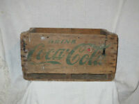 Antique Coca-Cola 6 pack wooden crate / Boîte en bois Coke City of Montréal Greater Montréal Preview