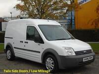 2008/58 Ford Transit Connect T230L High roof panel van Twin side doors Low miles