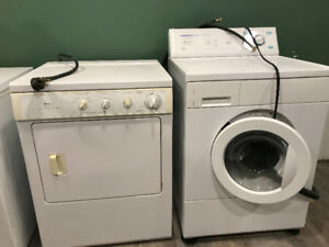 "Excellent Frigidaire  27"" Front Load Washer & Dryer incl manuals"