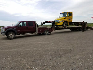 *STOLEN* 2005 Ford F-450 Crewcab Flat Deck Truck + 20ft Trailer