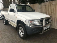 2004 54 Toyota Hilux Single Cab 2.4 T/D 4X4 1 OWNER 99k MINT CONDITION MAY P/X