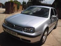 Volkswagen Golf 1.6 2003 Match 5 Door One Owner From New Cambelt Done 03/16 FSH