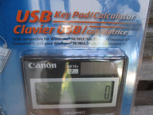 Canon DK-10i 12-Digit USB Calculator New in Package Never Used London Ontario image 4