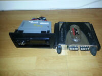 JVC CD PLAYER WITH MTX AMP