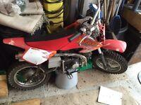 110 CC X-Sport pit bike
