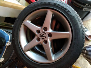 **2004 ACURA RSX RIMS AND TIRES**