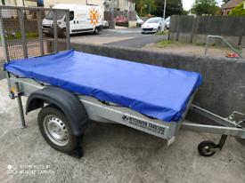 Wychavon 7x4 Trailer 3/4 Tonne Rear Ramp