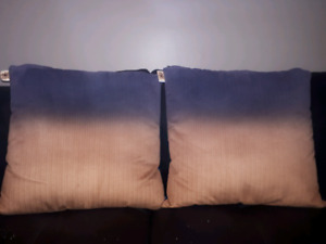 Ombre cushion covers