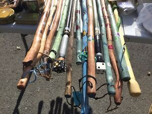 Walking Sticks, carved, handpainted, lots of variety. Canes
