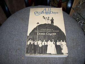 All Our Born Days History Kingston Peninsula Doris Calder