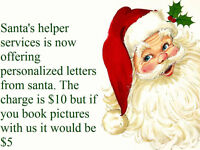 Personalized  Letters from Santa Claus